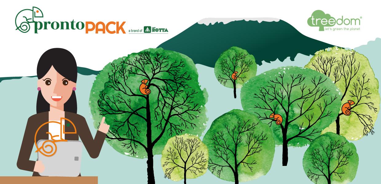 600 alberi per guardare al futuro