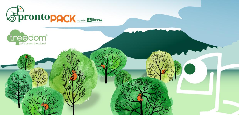 Facciamo crescere insieme la nostra foresta Treedom!